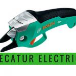 Comment fonctionne un sécateur électrique?